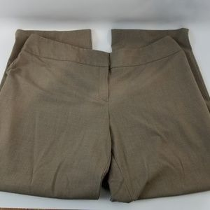 Style&CO stretch brown professional pants sz 18